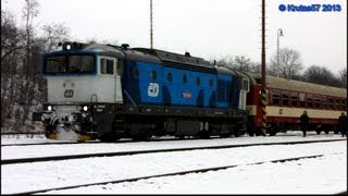 preview picture of video 'Brejlovec 750.706 Spencer + 954.203 Jerry - R1290, Hostivice, 17.1.2013'