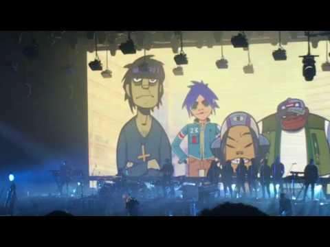 Gorillaz Concert — Humanz Tour // 07.17.17