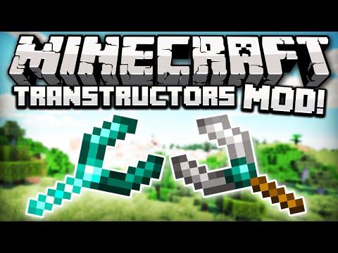 SIMILSAX TRANSTRUCTORS MOD - SUPER CRIADOR DE PONTES! - Minecraft mod Review