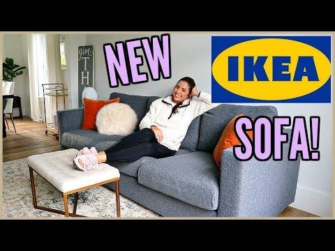 WE GOT A NEW IKEA SOFA! VLOG