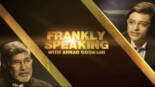 Frankly Speaking with Kailash Satyarthi - Full Interview