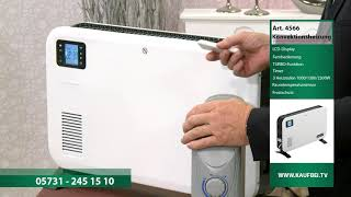 Öl-Raumheizung | Konvektorheizung mit LCD-Display | Heizung | Elektroheizung |