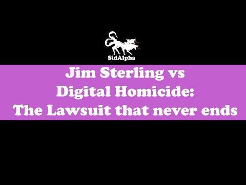 Jim Sterling vs Digital Homicide: The lawsuit that never ends