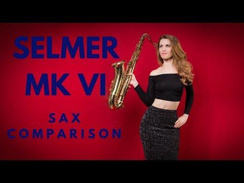 Selmer Mark VI (6) sax comparison / review 🎶 Saxophone advice / lesson / tutorial