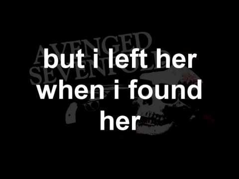 Dear God - Avenged Sevenfold [Lyrics]