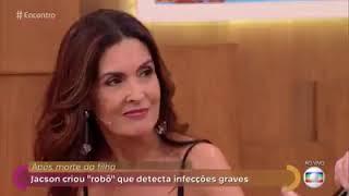Robô Laura é tema de Encontro com Fátima Bernardes
