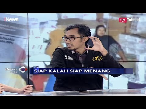 Hasil Quick Count Menangkan Jokowi, BPN: Kita Unggul 54 % Exit Poll - iNews Sore 17/04