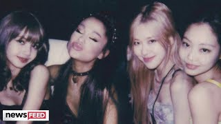 Ariana Grande Meets & FANGIRLS Over Blackpink at Coachella
