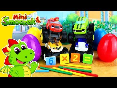 Blaze i Mega Maszyny - UCIECZKA CRUSHERA - Zabawa i Nauka - Zabawki Bajki Dla Dzieci Po Polsku