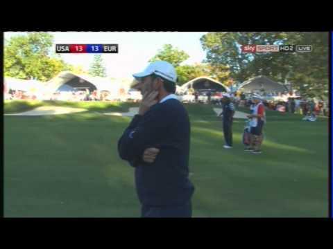 Martin Kaymer  Ryder Cup 2012 Siegesput