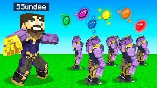 BUILDING a *THANOS* ROBOT ARMY in Minecraft (Insane Craft)