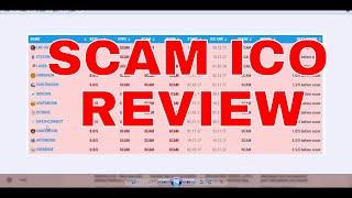 ALERT- SCAM ICO Review - LRC COIN, ETCCONNECT, LASER ICO, CHRONIUM, ELEKTRACOIN, NEXTCOIN