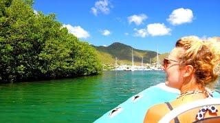 CaptainRick Log #4 - 'Sophisticated Lady' prepares for Hurricane DANNY, in St Martin, CARIBBEAN