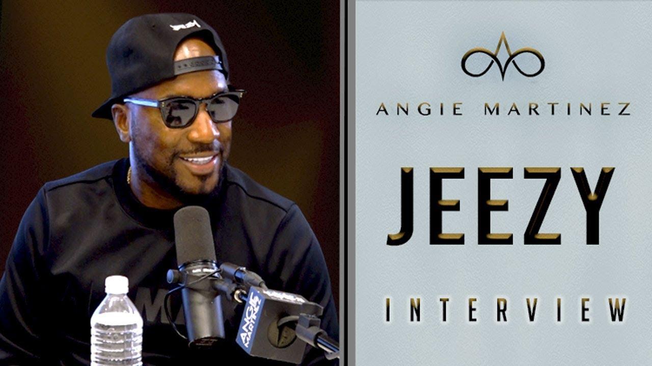 Jeezy on The Angie Martinez Show