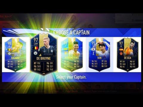 HIGHEST RATED EPL FUT DRAFT CHALLENGE! - FIFA 19 Ultimate Team