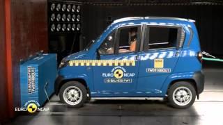 Euro NCAP Crash Test of Bajaj Qute 2016