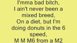 Up All Night - Drake ft. Nicki Minaj (Lyrics on Screen)