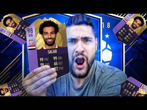FIFA 18 98 POTY SALAH IS THE GOAT -PLAYER REVIEW - 98 SALAH PLAYER OF THE YEAR !!