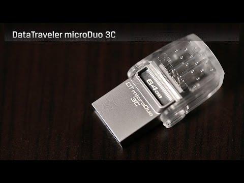 Kingston DataTraveler microDuo 3C (128GB, USB 3.1, USB Typ C)