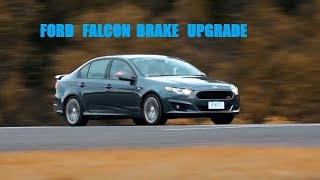 Best Ford Falcon Brake Upgrade!