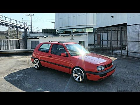 VW Golf Mk3 GTI - 3SDM Wheels - Static | Canal Japones GTI