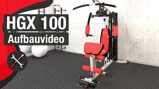 HGX100  Home Gym - Aufbauanleitung/construction/structure/estructura/struttura