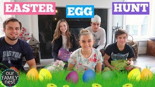 EASTER EGG HUNT! SEARCHING FOR HIDDEN EASTER EGGS!!