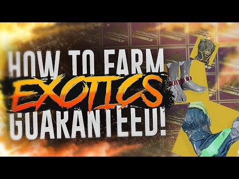 Destiny 2: HOW TO FARM INFINITE Y1 EXOTICS! (Leviathan Strategy)