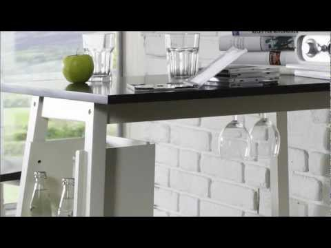 Bartisch mit Hockern für Ihre Küche - massivum