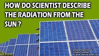 6- Solar Radioation Terms | Basics of Solar Energy