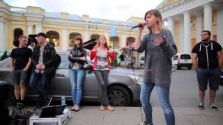 Маша HIMA (Стритушки СПб) 30.08.2015