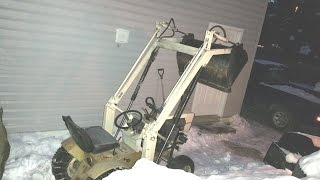 -30C Winter Cold Start * Sears Suburban Loader / B&S Vanguard 20HP *