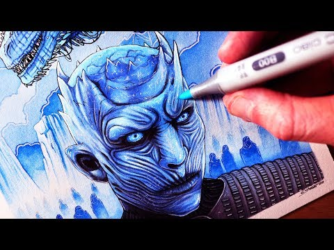 Let's Draw the NIGHT KING & VISERION - GAME OF THRONES - FAN ART FRIDAY