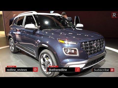 2020 Hyundai Venue – Redline: First Look – 2019 NYIAS