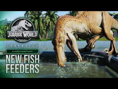 NEW FISH FEEDERS SHOWN! Plus Wetlands! | Jurassic World: Evolution Summer Update