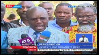 University Dons threaten to go on strike