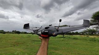 AR Wing Pro - Maiden LOS flight - GoPro footage - FPV