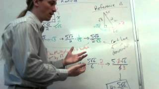 Special Right Triangles And Simplifying Radicals