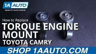 How to replace install new air intake hose 1997 99 toyota camry how to replace install front engine mount 97 01 toyota camry fandeluxe Choice Image