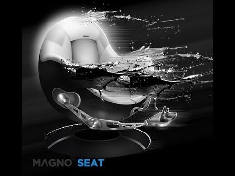 MAGNO© SEAT - DER ERSTE SEINER ZEIT MAGNO© Seat ist nicht nur der erste mittels Magnetkraft schwebende Stuhl auf dem Markt, sondern besticht durch bequeme Steuerung via App, direkte Musikwiedergabe durch das integrierte Highend-Soundsystem und diverse Schnittstellen für Spielekonsolen. Durch die Anbindung externer Geräte (Lenkrad, Throttle, Joystick, Cyclick, Pedale)und die Erweiterbarkeit mit neuen Funktionen und Hardware (MAGNO© Surf)ist er in den verschiedensten Bereichen nutzbar. Das Versprechen `Made in Germany´ stellt sicher das jeder MAGNO© Seat hohe Qualitätsansprüche erfüllt und unter ständiger Prüfung weiterentwickelt wird.