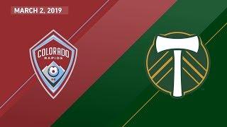 HIGHLIGHTS: Colorado Rapids vs. Portland Timbers | March 2, 2019