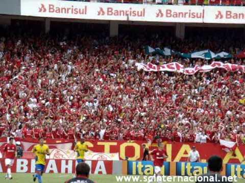 """""""INTER 4 X 1 Santo André - Camisa Vermelha(Mamonas Assassinas) - Guarda Popular Colorada"""" Barra: Guarda Popular • Club: Internacional"""