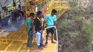 Highest Bungy jump in India