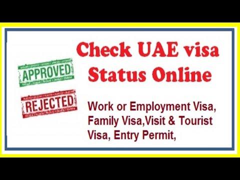how to check visa cancellation status uae  uae visa
