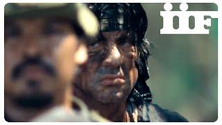 John Rambo   Scena finale (Mitragliatrice)   CLIP ITA