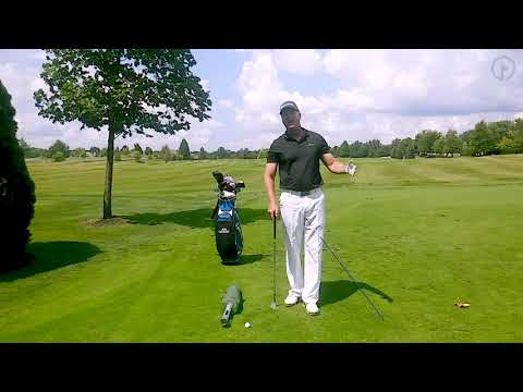 Correct Swing Shape for a Pitch and Run Shot
