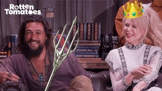Aquaman UNCUT Comic-Con Interview | Rotten Tomatoes