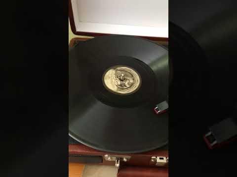 Eugeniusz Bodo - Czekamy Was We Lwowie (Tylko We Lwowie) - Soviet record (1940)