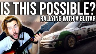 Is It Possible To Go Rallying With A Guitar Hero Controller