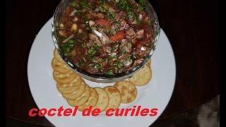 Como hacer coctel curiles Salvadorenos [mi estilo]